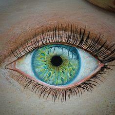 Eye- oil on canvas