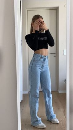Indie Outfits, Teen Fashion Outfits, Look Fashion, Outfits For Teens, Summer Outfits, Mom Jeans Outfit Summer, Swaggy Outfits, Cute Casual Outfits, Simple Outfits