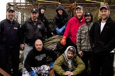 The Time Bandit's crew this season includes, from left to right, back row: Captain Andy Hillstrand, Captain Jonathan Hillstrand, Eddie Uwekoolani, Jr., Scott Hillstrand, Mike Fourtner, Neal Hillstrand and Travis Lofland. Foreground, left to right: Eddie Uwekoolani and Josh Harris. Like his brother Jake on the Northwestern, Josh Harris takes a spot on the Time Bandit when it becomes clear that the Cornelia Marie will sit out this season. Eddie Junior proved his worth and toughness last…
