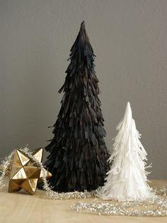 DIY Pinata Christmas Tree | Henry Happened Árbol de Navidad con papel de china, tipo piñata.