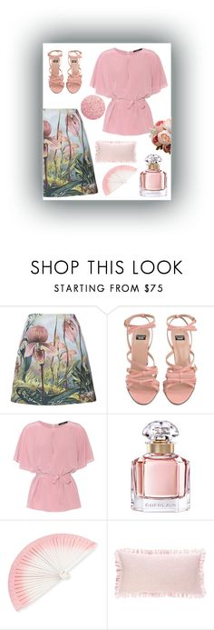 """""""Senza titolo #235"""" by robbys73 ❤ liked on Polyvore featuring ADAM, Boutique Moschino, Etro, Guerlain, FernFans and Pine Cone Hill"""