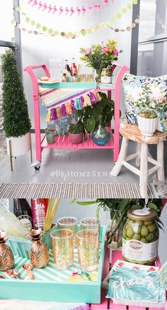 Fancy a fiesta but have finite outdoor space? No worries! @bijuleni has big ideas to party down in a small space with the help of #MyHomeSense. Shimmy over to her website for all the deets. Photos: Laura Clark