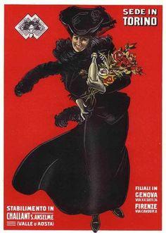 1910 ART POSTER ITALIAN WINE FASHION BREWERY BAR DECO ADVERTISING