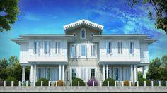 3D Modelleme (2) Mansions, House Styles, Home Decor, Decoration Home, Manor Houses, Room Decor, Villas, Mansion, Home Interior Design