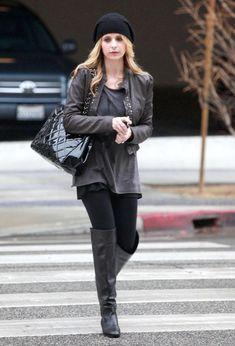 Actress Sarah Michelle Gellar and a friend heading to the First Presbyterian Church of Santa Monica in Santa Monica. CA.