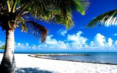 One of the long Florida Keys beaches is Smathers Beach in Key West, near the Key West Airpot, and other great local beaches
