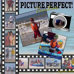 Picture Perfect Vacation - Scrapbook.com