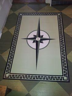 Timeless Floorcloths Client S Carla Clark Oil Cloth Rugs