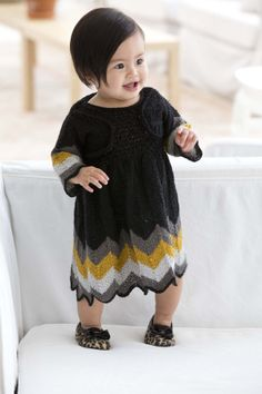 Free Knitting Pattern: Party Dress And Shrug