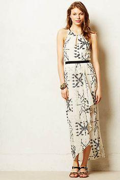 Teres Maxi Dress  Very flattering max.  I really like the neckline.