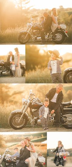 Ride or Die | Pittsburgh Child and Family Photographer motorcycle family photoshoot