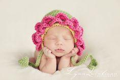 Petal Hat.  So cute!