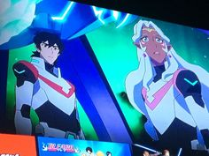 """justpidgance: """" This flashes as one of the promotional images used for Voltron on Netflix when I scrolled over it. Just bless  ~~ This is a beautiful day """""""