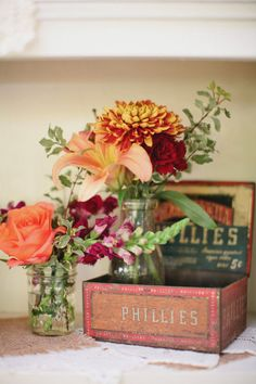 Arrangement floral vintage.