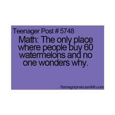 hate math | Hate math !!! | Tee Hee and Giggle!
