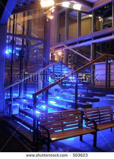 club staircase