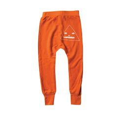 Mini and Maximus Triangle Dude Pant - Orange