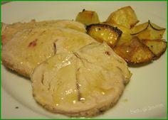 Arrosto di tacchino con patate al forno ok