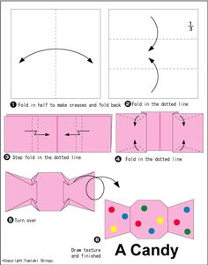 How To Make An Easy Origami Candy Cane