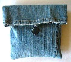 Riciclo creativo dei vecchi jeans (Foto 14/40)   Ecoo