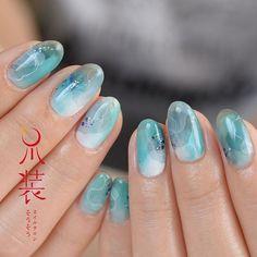 「アレッサンドラフェリ」  ブルーもじわじわ人気(o^^o) 本物の深さも美しさも写らないのが残念!  #nail#nailart#art#sousou_nail#ネイル#ネイルアート#作品#アレッサンドラフェリ#ロミオとジュリエット#爪作家#爪装