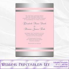 47 Best Wedding Templates Images Wedding Stationery Stationery