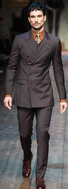 Dolce Gabbana More suits, style and fashion for men