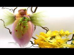 Filzanleitung Frühlingsfee aus Märchenwolle - trolle-und-wolle.de - YouTube