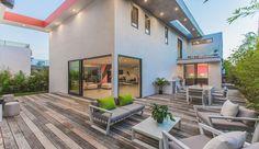 Extraordinaire maison aux lignes angulaires et géométriques à Los Angeles, une-Angular-Lines-par-Amit-Apel #construiretendance