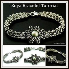 Tutorial pulsera de Enya Chainmaille Jewelry PDF