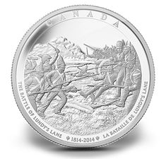 Fine Silver One Kilogram Coin - The Battle of Lundy's Lane - Mintage: 400 (2013)