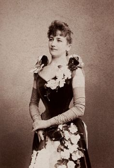 Mlle Sigrid Aroldson. Early 1890s