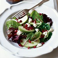 Autumn+Apple+Salad+with+Pomegranate+by+Vegetarian+Times