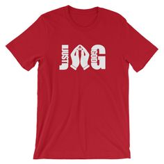 JAG Just Ask God Spiritual Short-Sleeve Unisex T-Shirt
