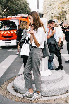 Street Style #PFW / Día 1 Foto: © Diego Anciano | Pinterest: Natalia Escaño