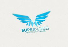 Super Wings Logo by eSSeGraphic on Creative Market