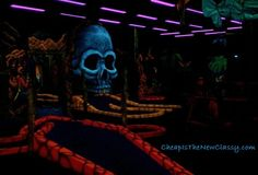 Magiquest and Pirate Black Light Golf fun in Pigeon Forge TN!  #pigeonforge   #tennessee   #travel   #vacation  #travelideas  http://statebystatetravel.com/magiquest-black-light-golf/