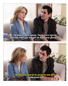 Phil Dunphy is everything.