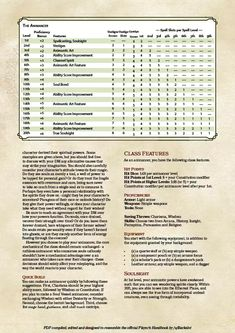 Post with 5649 views. The Animancer Dungeons And Dragons Classes, Dungeons And Dragons Homebrew, Dnd Races, Dnd Classes, Dnd Funny, Dnd 5e Homebrew, Dragon Rpg, High Elf, Pathfinder Rpg