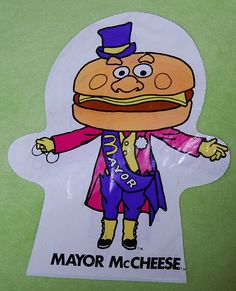 McDonalds bag puppets