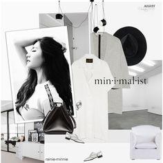 Sunday Minimalist Outfit Idea 2017