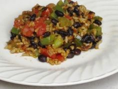 a simple {real food} recipe :: mexican stir fry and {batch cooking} black beans