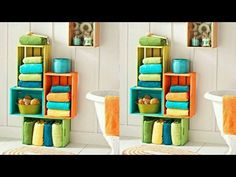 80 iDEAS PARA RECICLAR CAJAS DE FRUTAS !!! ORIGINALES, CREATIVAS Y HERMOSAS - YouTube