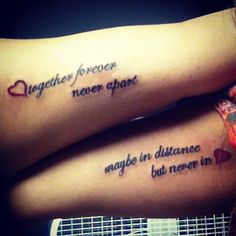 Could be a perfect tattoo for me and my boyfriend, but matching relationship tattoos are never a good idea lol