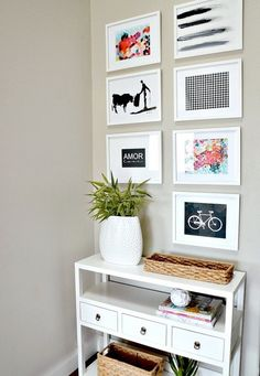 Use these free printables to create a chic gallery wall.