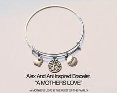 MOTHERS DAY PRESENT!!!  Alex And Ani Inspired Bracelet. A MOTHERS by JewelryImpressions
