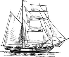 Old Ship Clip Art