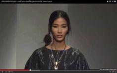 """""""JEAN PIERRE BRAGANZA"""" feat. Vietnamese Model  Huyen Trang LFW Fall Wint..."""