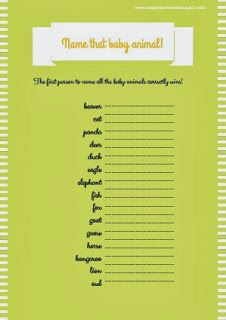 2_Free Printable Baby Shower Games Archives - Page 3 of 3 - Baby Shower Ideas - Themes