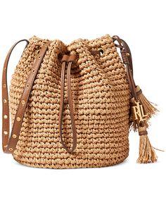 SALE Lauren Ralph Lauren Goswell Janice Small Bag NOW $96.00 (75% Off) ORIG. $128.00